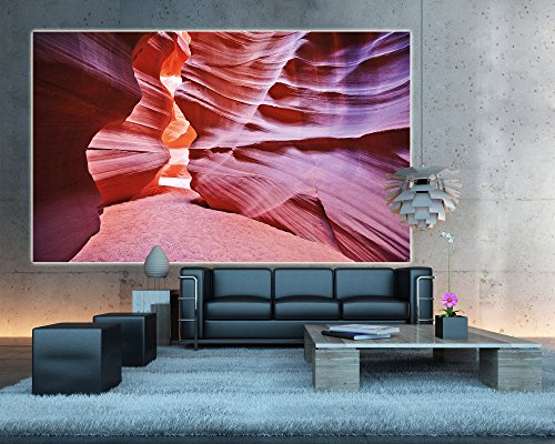 Antelope canyon papier peint de photo canyon tableau mural xxl poster antelope desert d co mural - Poster decoratif mural ...