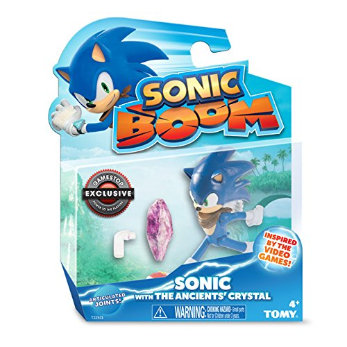 Sonic Boom, Exclusive Sonic Action Figure with The Ancient's Crystal