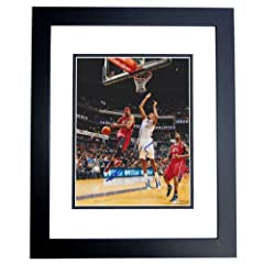 Josh Smith Autographed Hand Signed 8x10 Atlanta Hawks Photo - BLACK CUSTOM FRAME by Real Deal Memorabilia