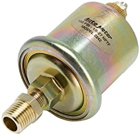 Auto Meter 2242 Short Sweep Electric Oil Pressure Sender
