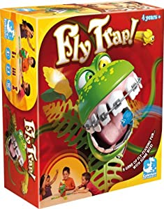 Fly Trap Action Board Game