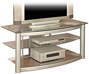 "Powell ""Matte Silver"" Plasma Stand"