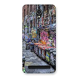 Special Color Art Streets Multicolor Back Case Cover for Zenfone Go