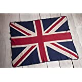 Eco Friendly Throw / Blanket - Union Jack British Flag - Made in USA