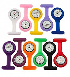 Nurses Silicone Fob Watch - Various Shades