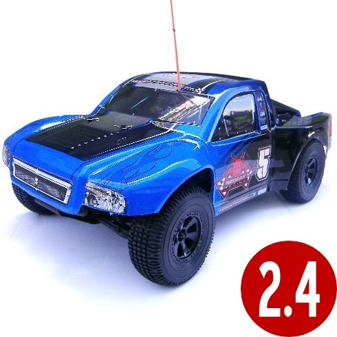 Aftershock -8e-Blue RC-Car 1/8 Scale