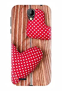 Noise Designer Printed Case / Cover for Intex Cloud Crystal 2.5D / Patterns & Ethnic / Love Design - (GD-215)