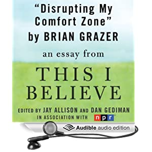 believe audio essays This i believe has 5,090 ratings and 815 reviews because i have to write my own this i believe essay for an i highly recommend the audio version.