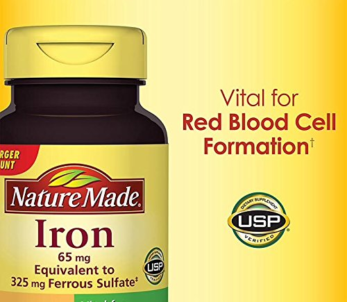 Nature Made Iron 65 mg., 365 Tablets (Iron Supplement Nature Made compare prices)