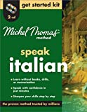 Michel Thomas Method™ Italian Get Started Kit, 2-CD Program (Michel Thomas Speak   )