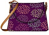 Snoogg seamless pattern with leaf seamless texture can be used for wallpaper Womens Carry Around Sling Bags