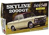 フジミ模型 1/24 インチアップシリーズ No.78 ニッサン スカイライン 2000GT S54A/S54B