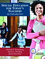 Special Education for Today s Teachers An Introduction by Rosenberg
