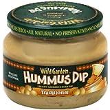 Wild Garden Hummus Dip Traditional -- 13.4 oz