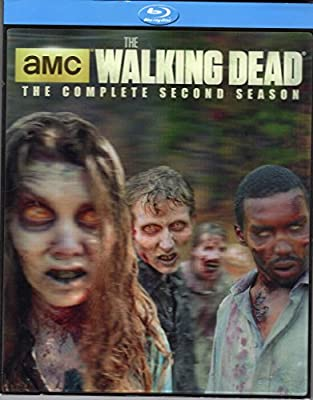 The Walking Dead: Season 2 (With Limited Edition Lenticular Cover) [Blu-ray] [2015]