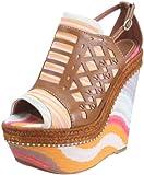 Missoni SAND.MONT.LASERATO ZATT.135 Sandals Womens Pink Rosa (CIPRIA) Size: 7 (41 EU)