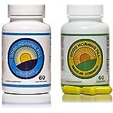 Perfect Day Energy Pills - Good Morning Pill & GMP Liquicaff (Caffeine + Vitamins) - Capsule / Pill Supplement to Increase Focus and Concentration - Original & Maximum Strength Liquid Capsules (60 Original & 60 Liquicaff)
