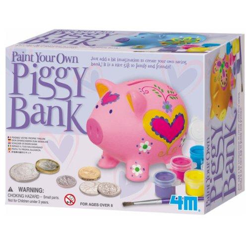 4M Paint a Pig Bank - 1