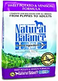 Dick Van Patten's Natural Balance Limited Ingredient Diets Sweet Potato and Venison Formula Dry Dog Food, 26-Pound Bag