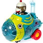 Bump n' Go Sock Monkey Submarine