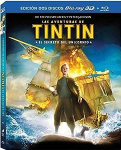 Tintin: El Secreto Del Unicornio (Blr 3D) [Blu-ray]