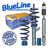 JOM 741046 Coilover suspension kit, JOM BlueLine, Seat Toledo 5P 1.6/ 2.0/ 2.0T/ DSG/ 1.9TDi Ø 50/55 mm!! thread/spring