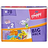 Bella Baby Happy Windeln Größe 2 Mini 3-6 kg Big Pack, 3er Pack (3 x 78 Windeln)