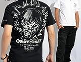 (スカルワークス)SKULL WORKS × Spiderweb × スパイダーウェブ 半袖Tシャツ 範馬刃牙 オーガ 髑髏 GBT-03