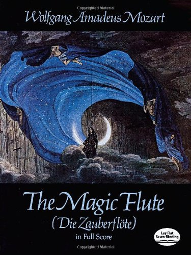 The Magic Flute (Die Zauberflote) in Full Score (Dover...