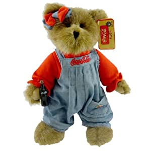 Amazon Com Kaylie Boyds Coca Cola Bear Retired Toys