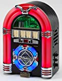 USB CD Rock mini LED - COLOUR CHANGING LED RADIO/CD/MP3 JUKEBOX