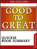 img - for Good To Great by Jim Collins| Quickie Book Summary book / textbook / text book