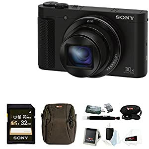 Sony Cyber-shot DSC-HX90V Digital Camera with 16GB Accessory Bundle