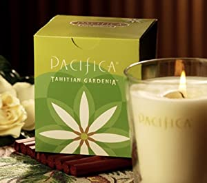 Pacifica 5.5 oz Soy Boxed Glass Candle from Pacifica