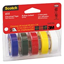 Scotch #35 Electrical Tape Value Pack