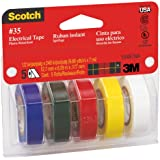3M Scotch #35 Electrical Tape Value Pack (10457NA)