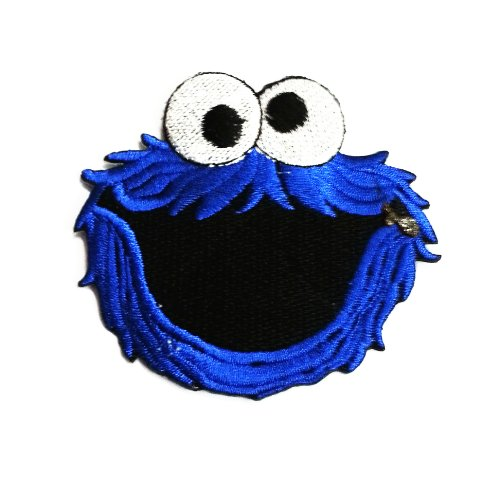 Cookie Monster Iron on Patch,applique,embel... Novelty Girl,boy Blue By Sonata Shop
