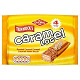 Tunnock's Caramel Log Wafer Biscuits 4 x 32g Case of 12