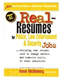img - for Real-Resumes for Police, Law Enforcement, & Security Jobs (Real-Resumes Series) book / textbook / text book