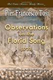 Observations on the Florid Song (1723)