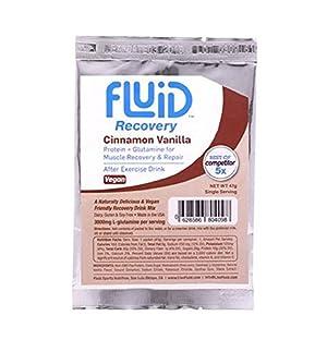 Fluid Recovery Drink Box - 6 Single Serving Packets (Cinnamon Vanilla - VEGAN)