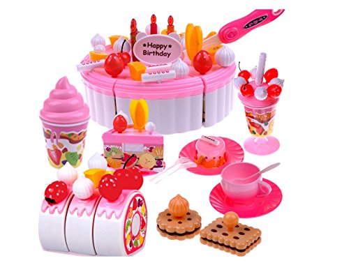 Play House Toys Cake 22 Parts Assembled Educational Childrens Toys Discount Toys