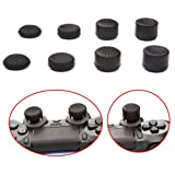 KELUX Thumb Grips 8 Pack for PS4 Controllers (PlayStation 4)