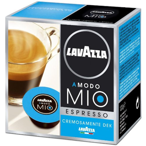 Lavazza A Modo Mio Ground Coffee Capsules Pack of 16 Cremosamente Blend