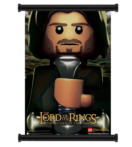 Movie Poster Lord of The Rings Lego Lord of The Rings Movie