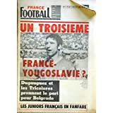 FRANCE FOOTBALL [No 1149] du 19/03/1968 - LYON - HAMBOURG - EQUIPE DE FRANCE - MARSEILLE - YOUGOSLAVIE - BELGRADE...