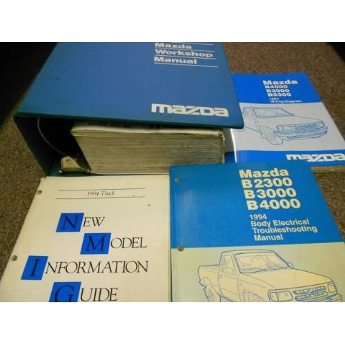 1994 Mazda B Series Truck Service Repair Shop Manual SET