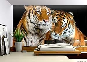 Tigers Wallpaper Mural - - Amazon.com