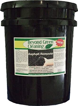 Clift Industries 8806-005 Beyond Green Cleaning Asphalt Remover, 5-Gallon Bucket