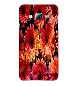 PrintDhaba Flowers D-2819 Back Case Cover for SAMSUNG GALAXY A3 (Multi-Coloured)